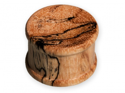 Holz Plug Flesh Plugs Tunnel Ohr Piercing Schmuck Zebra Tamarinde 1 Stück 4-30mm
