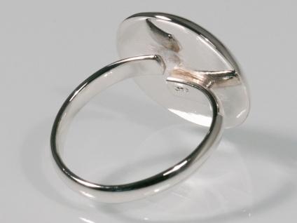 Damen Finger-Ring Turban Schnecke Stein Silber 925 risi068_schnecke