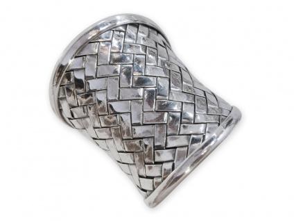 Karen Hill Tribe Silber Ring 925 sehr breit ethno boho damen schmuck vintage