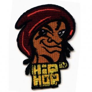 Aufnäher Hip Hop rap break dance grafitti aggro berlin bushido patch aufbügler