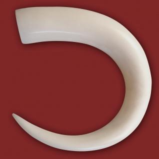 Knochen Dehnungssichel Spirale bone expander taper ohr piercing horn tunnel plug