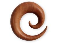 Dehnspirale Sawo Holz Schnecke Sichel Dehner Piercing Expander Taper Schmuck
