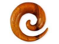 Dehnspirale Schnecke Chang Holz Sichel Piercing Expander Taper Schmuck
