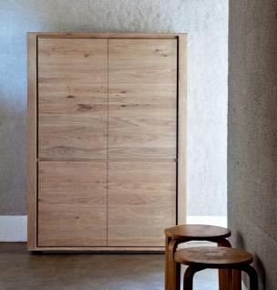 Ethnicraft Oak Shadow Storage Cupboard - Hochschrank