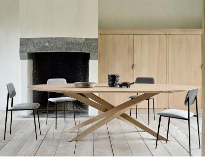 Ethnicraft Eiche Mikado Table Rund / Oval - Esstisch