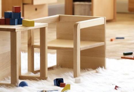 Jan Kurtz Hugo - Kindersessel / Kindertisch