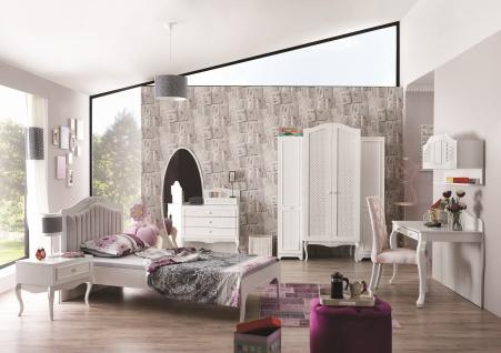 Kinderzimmer Set Viki 6-teilig in Weiß Klassisch Vintage