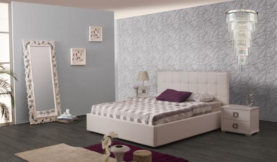 Bett Nevada 160x200 cm Polsterbett in beige