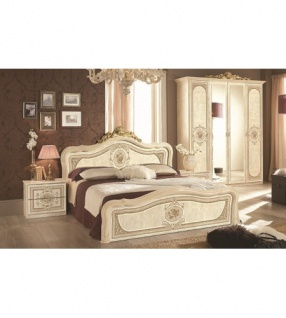 Wunderbar Schlafzimmer Alice In Creme Beige Barock 160x200cm