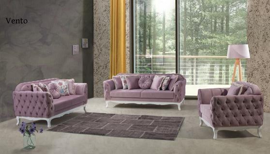 Sofa Set Vento 3+2+1 in Lila