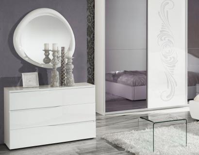Kommode Mit Spiegel Valentina In Weiss Im Italienische Design