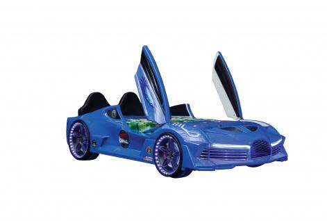 """Autobett """" Moon Aero"""" in Blau"""