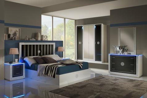 Schlafzimmer Cristal In Schwarz Weiss Modern Design Kaufen Bei