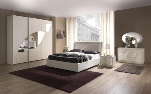 Schlafzimmer Trevia in weiss Stilvoll elegante Möbel