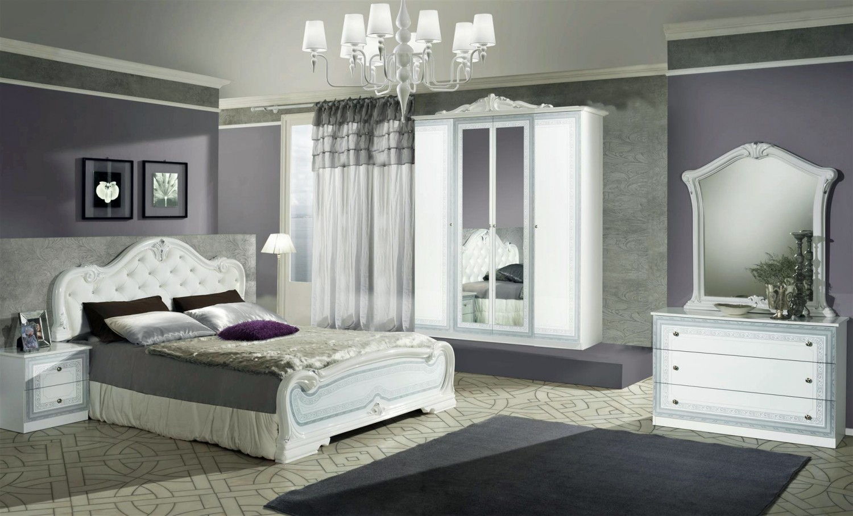 Schlafzimmer Set Lion in Weiss Klassisch Design - Kaufen bei KAPA Möbel