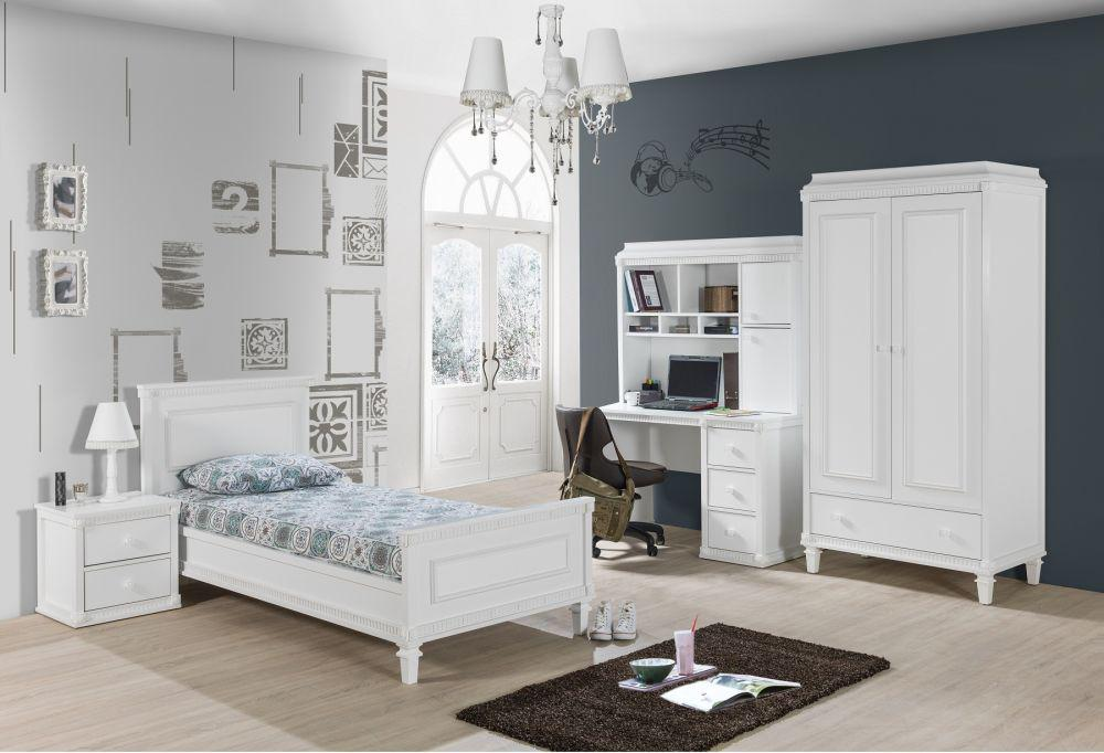 ... Babyzimmer Hazeran 70x130 Cm Weiss Landhausstil Traum 3 ...