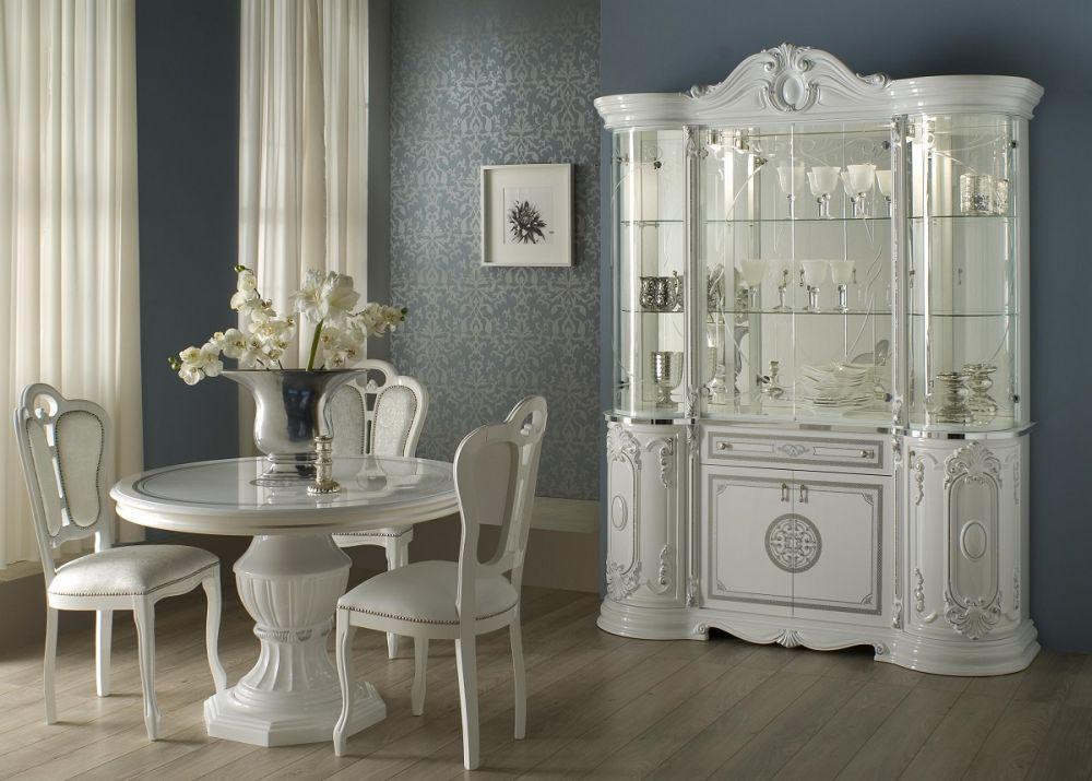 ... Schlafzimmer Great In Weiss Silber Klassische Design Italienisch 5