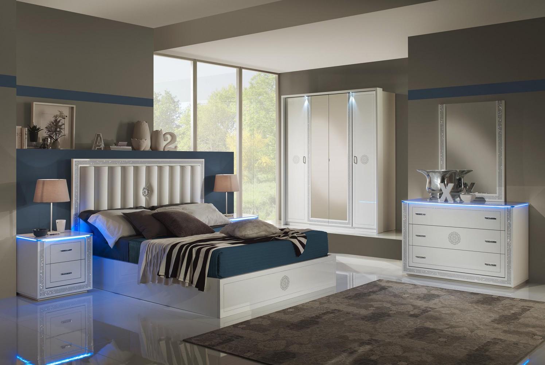Schlafzimmer Cristal In Weiss Modern Design 1 ...