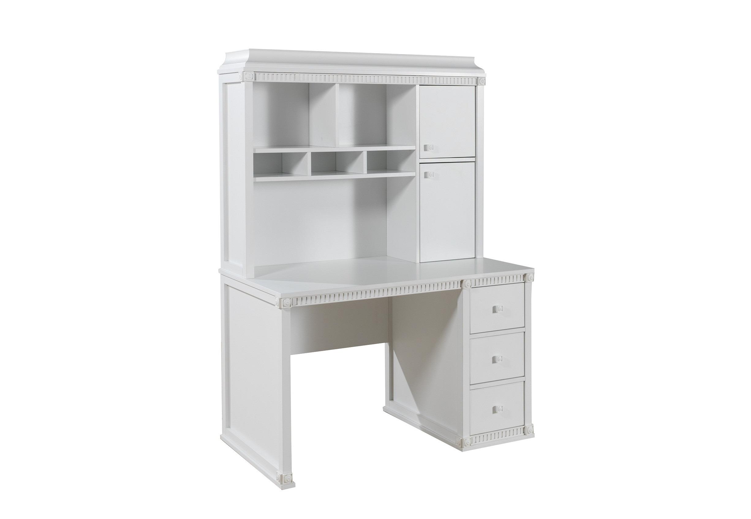 Schreibtisch Hazeran Mit Aufsatz Landhausstil Weiss Kinder Kaufen