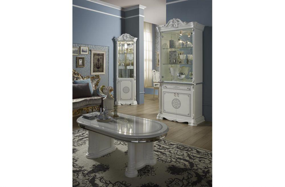 schlafzimmer great weiss silber klassische design italienisch 18 4 - Schlafzimmer Klassisch Weis