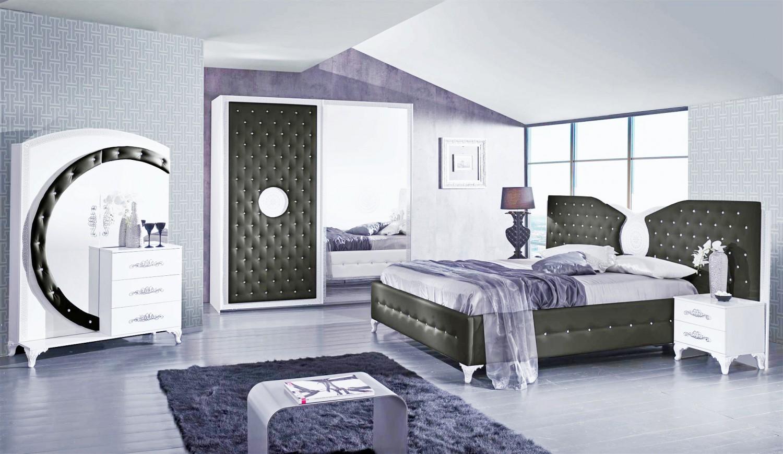Schlafzimmer Anatalia In Schwarz Weiss Luxus Design 1 ...