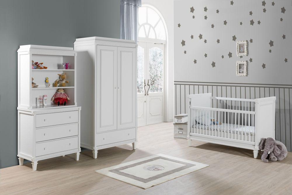kinderzimmer landhausstil weiss wohn design. Black Bedroom Furniture Sets. Home Design Ideas