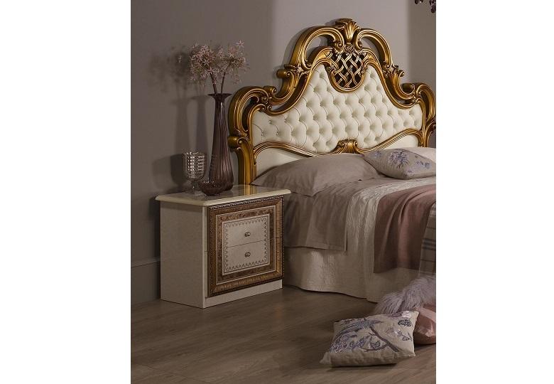 Nachtkonsole Anja beige für Schlafzimmer Italienische Möbel Klas ...