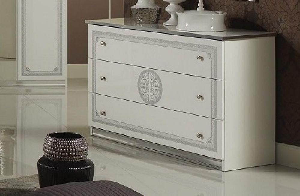 Kommode Italienisch kommode great weiss silber klassik barock italienische möbel