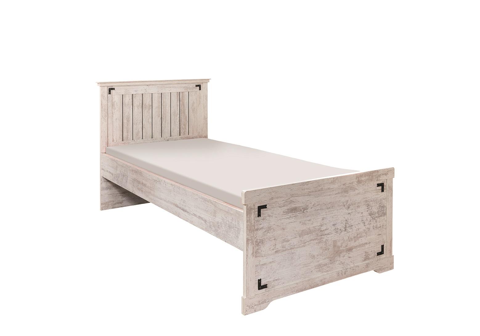 Bett 120x200 Cm Woodlife In Weiss Im Landhausstil Kaufen Bei Kapa