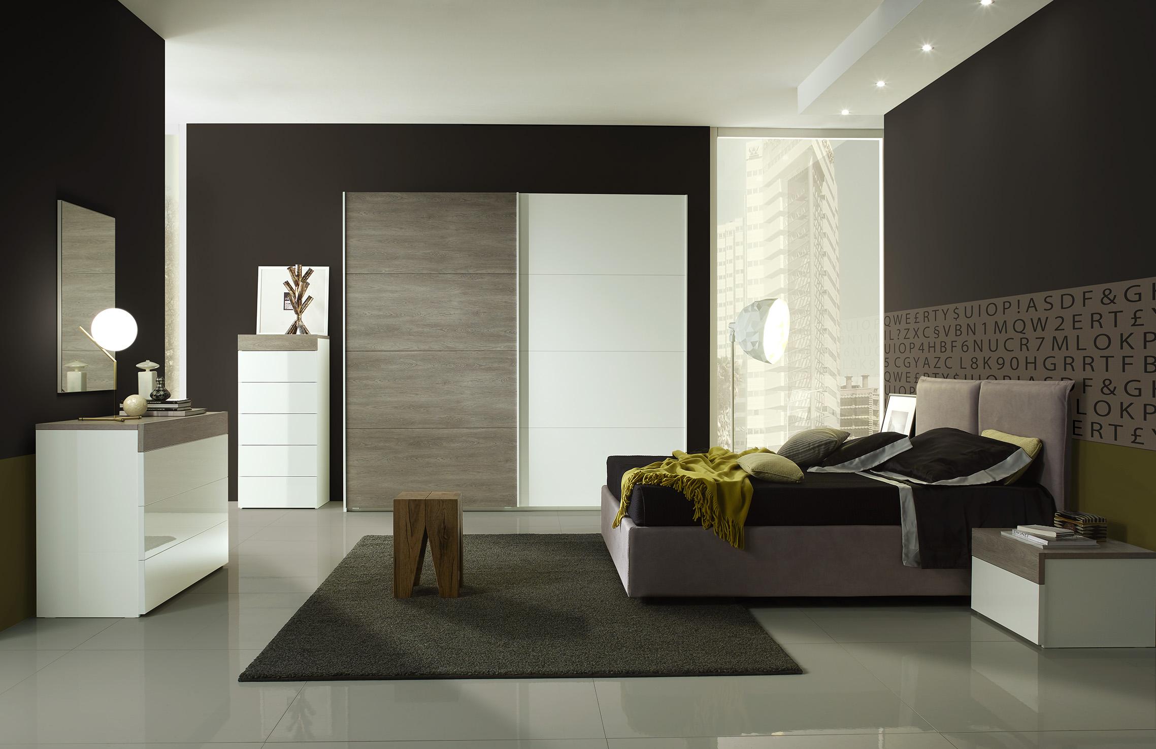 Schlafzimmer Set Gessy in Modern Design