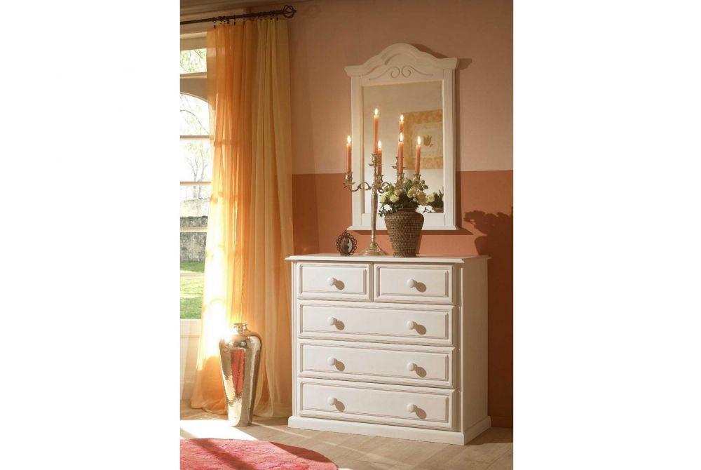 kleiderschrank 5trg sandra im landhausstil in weiss pinie teilm kaufen bei kapa m bel. Black Bedroom Furniture Sets. Home Design Ideas