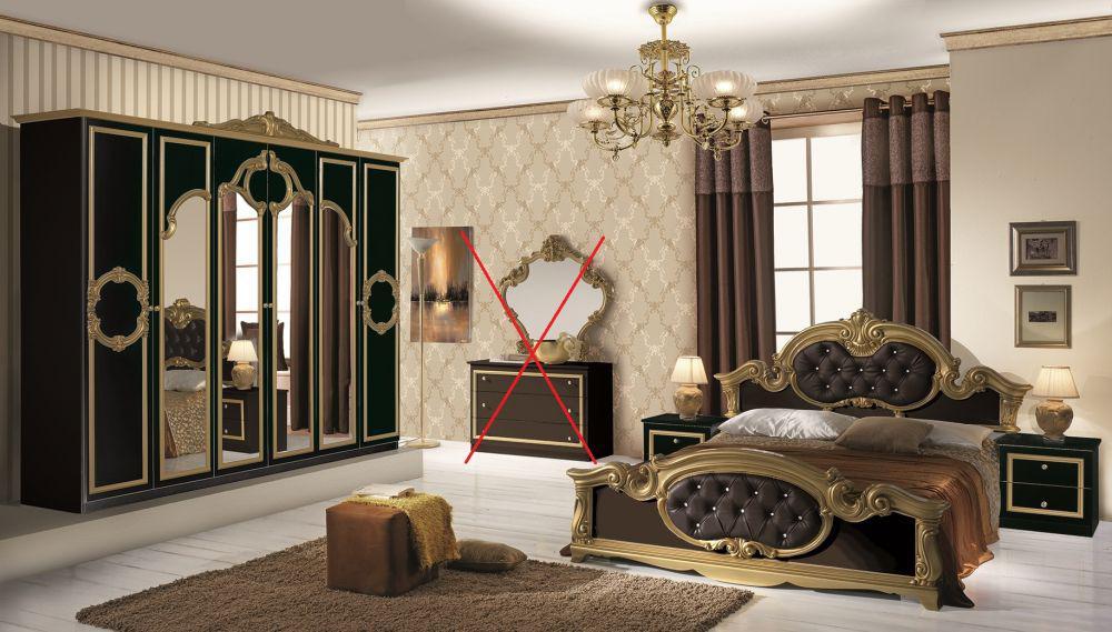 Schlafzimmer barock dekoration und interior design als schlafzimmer barock haus design - Barock mobel modern ideen ...