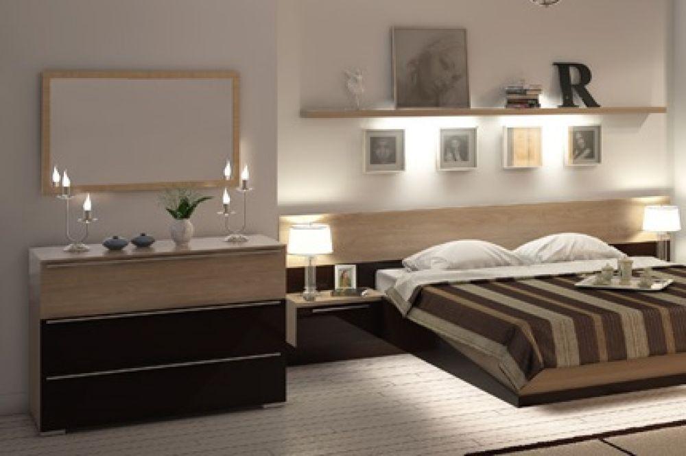 kommode ohne spiegel tera in eiche braun für schlafzimmer - kaufen ... - Schlafzimmer Mit Kommode