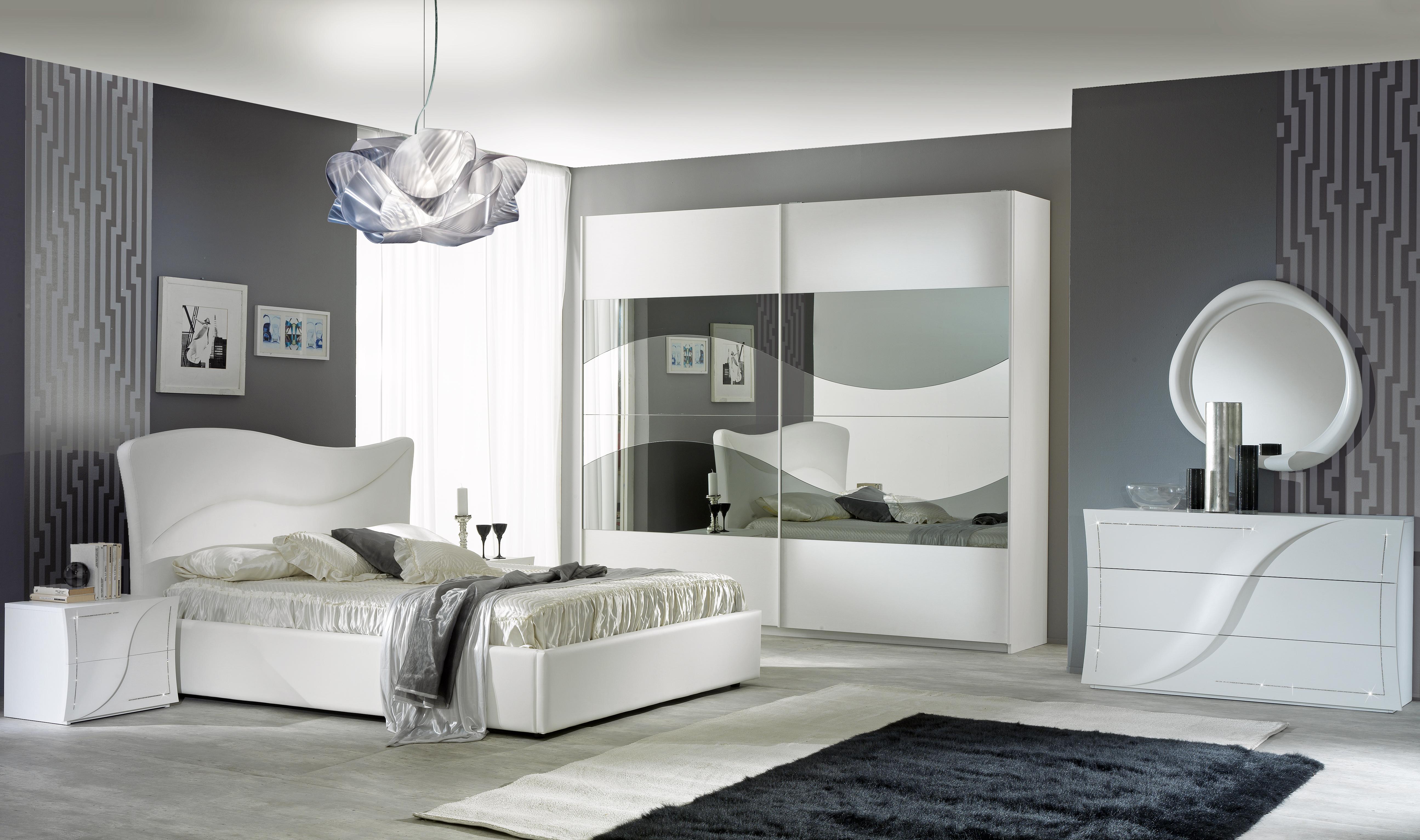 Schlafzimmer Set Aurora in Weiß - Kaufen bei KAPA Möbel