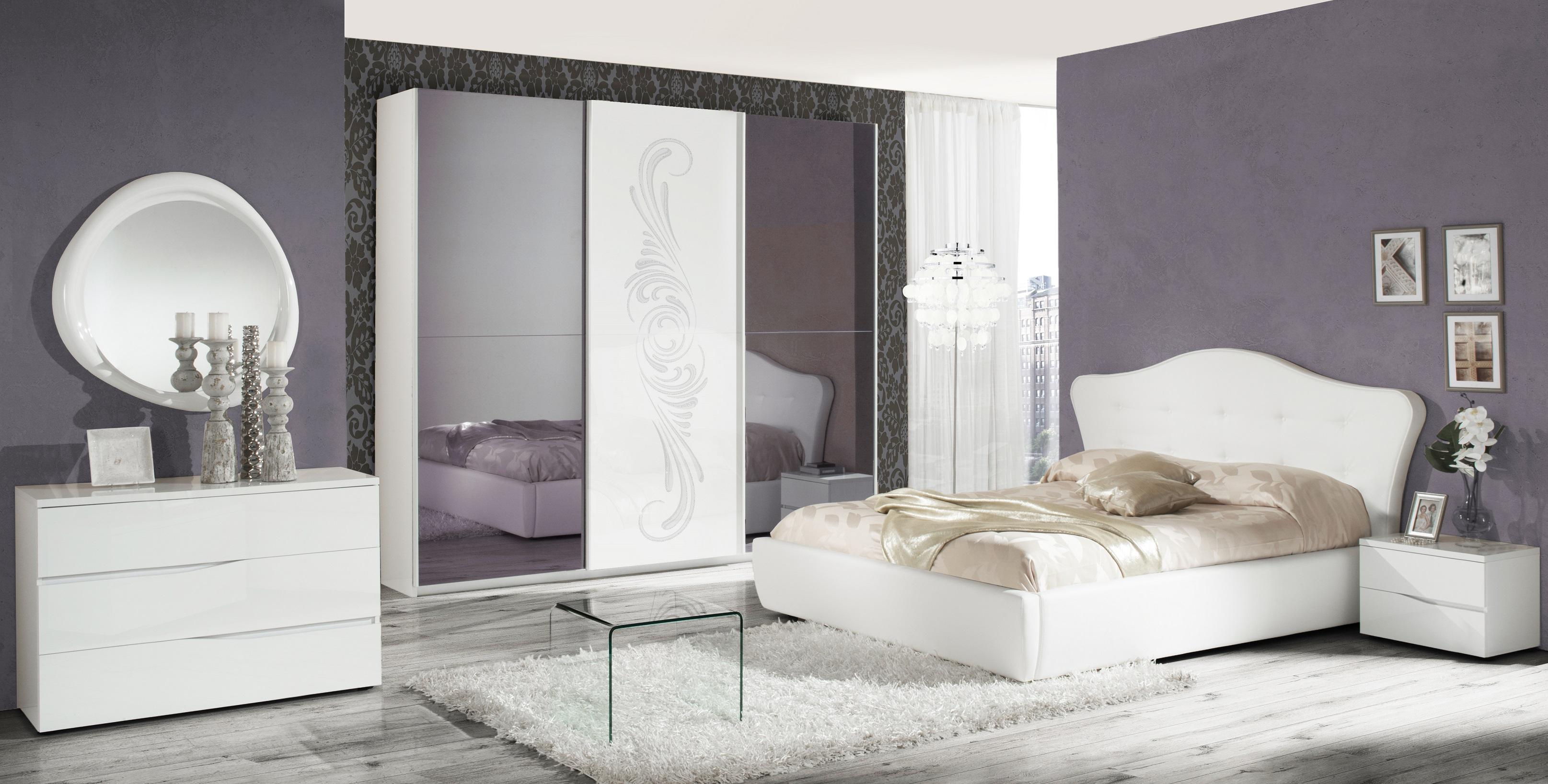 Schlafzimmer Set VALENTINA in Weiss - Kaufen bei KAPA Möbel