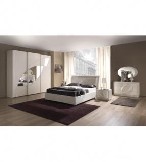 Schlafzimmer Trevia in weiss Stilvoll elegante Möbel - Kaufen bei ...