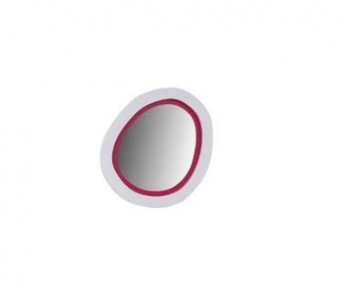 Wandspiegel rund in wei? pink Sweety