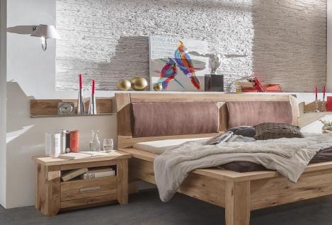 Nachtkonsole Tina Landhausstil Asteiche massiv geölt montiert
