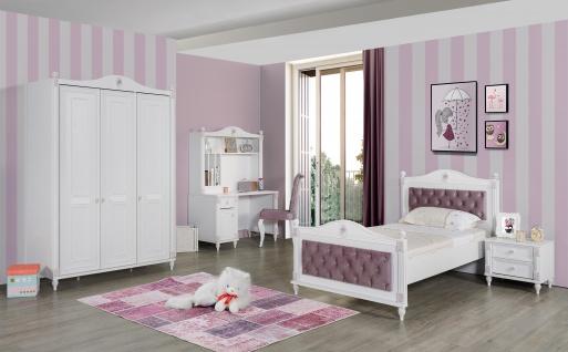 Jugendzimmer Set Goldi in romantischem Design 5-teilig