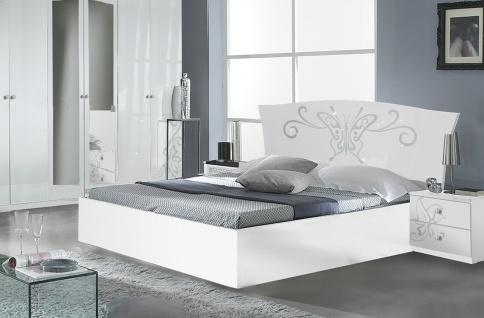 Bett Butterfly 160x200cm In Weiss Modern Kaufen Bei Kapa Mobel
