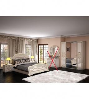 Schlafzimmer Lana Beige Creme Weiss Barock Klassik 4tlg Kaufen Bei