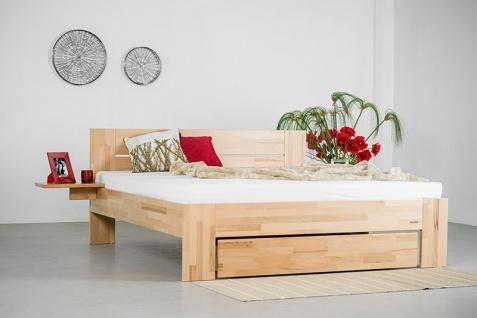 Bett Vento Landhausstil massivem Holz geb?rst