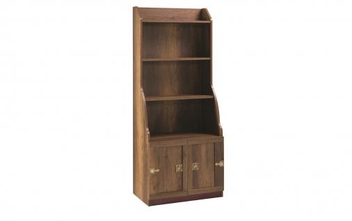 Korsan Pirat Bücherregal in braun für Kinderzimmer