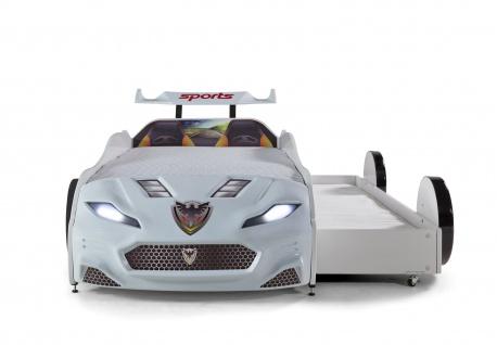 Autobett Coupe mit G?stebett Forza 2 Wei?
