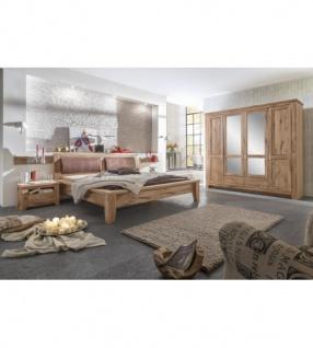 Schlafzimmer Tina im Landhausstil Asteiche massiv geölt