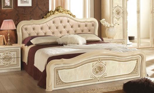 Bett Alice in Beige Italienisch