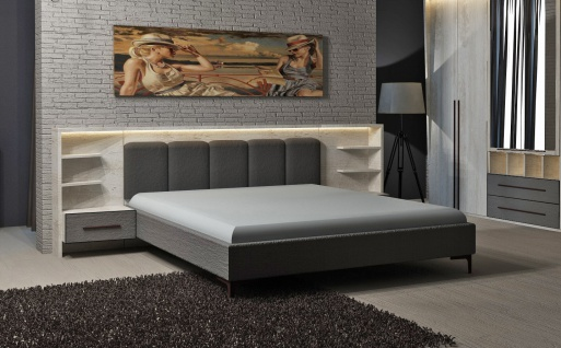 bett 160x200 wei g nstig online kaufen bei yatego. Black Bedroom Furniture Sets. Home Design Ideas