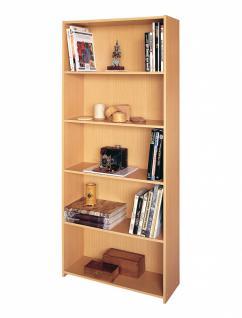 Pascal Bücherregal mit 4 Böden Buche Dekor