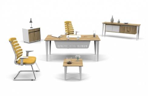 Büro Möbel Set Icono Lux 3-teilig 160x80