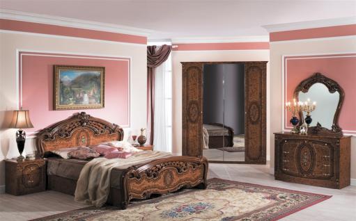 Schlafzimmer-Set Liliana 4-teilig Walnuss